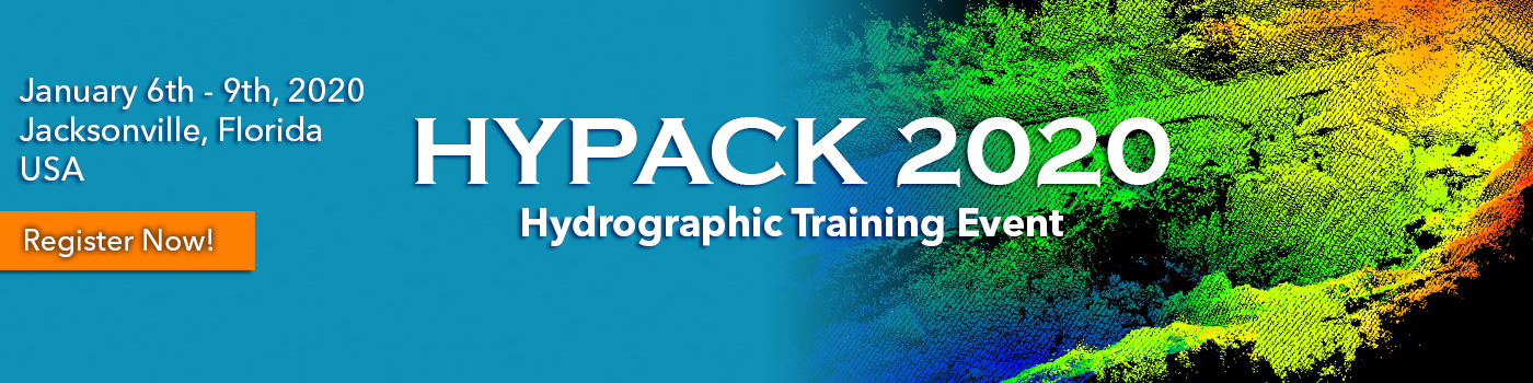 HYPACK 2020 Training Event - Register Now!